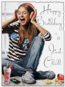 Just Chill Birthday Card